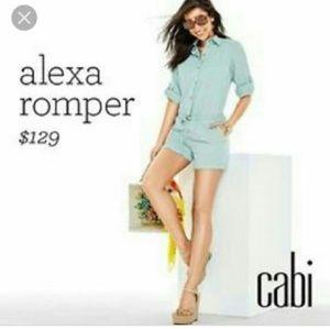 Cabi Alexa romper